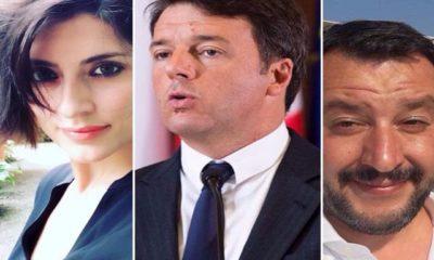 Elisa Isoardi Matteo Salvini: Matteo Renzi commenta