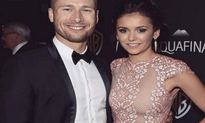 nina dobrev glen powell
