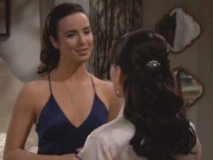Ivy scopre Quinn e Ridge insieme - Beautiful