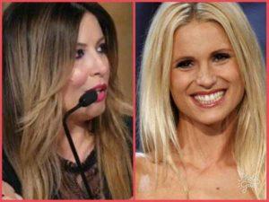Selvaggia Lucarelli contro Michelle Hunziker per la 'bella ciccetta'