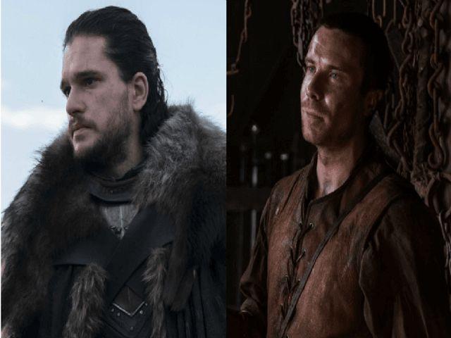 jon snow gendry game of thrones