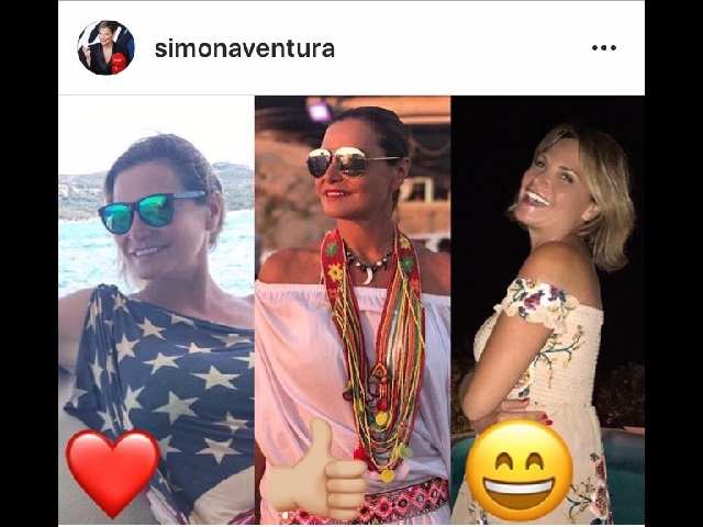 Simona Ventura instagram