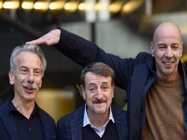 Il trio comico in crisi: Aldo sul set senza Giovanni e Giacomo