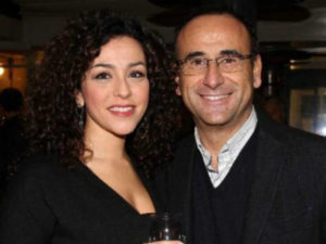 Carlo Conti e la moglie Francesca Vaccaro