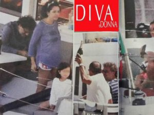 Carlo Conti e la moglie Francesca, secondo figlio in arrivo?