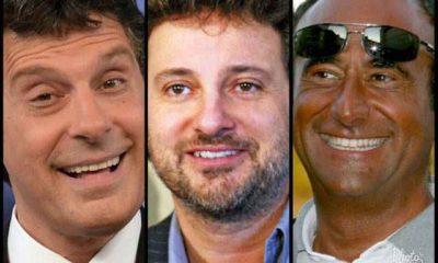 Fabrizio Frizzi, Carlo Conti, Leonardo Pieraccioni al mare con i figli: le foto di Vero