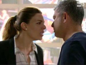 Franco e Angela litigano