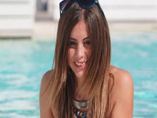 Giulia Latini occhiali da sole