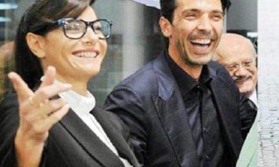 Ilaria D'Amico e Gigi Buffon insieme in tv: l'indiscrezione