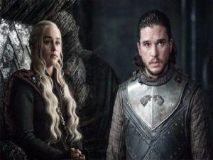 jon snow e daenerys game of thrones