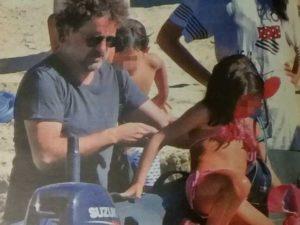 Leonardo Pieraccioni e la figlia Martina, la foto della rivista Vero
