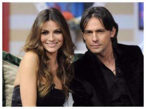 Pippo Inzaghi festeggia con Alessia Ventura: è tornato il sereno nella coppia?