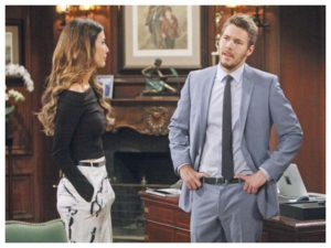 Beautiful anticipazioni dall'America: Steffy e Liam litigano per colpa di Bill