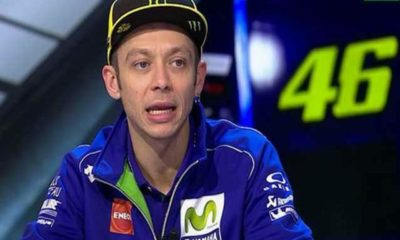 valentino rossi incidente