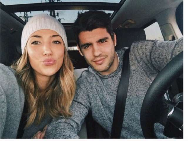 Álvaro_Morata_girlfriend_Alice_Campello dopo il matrimonio