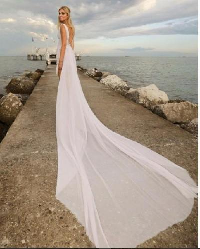 Chiara Ferragni venezia vestito