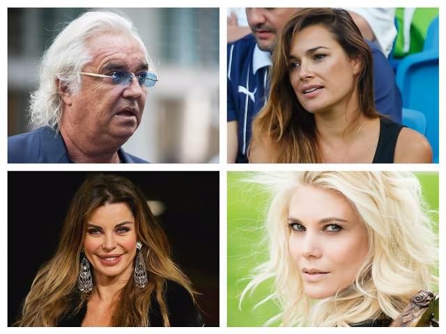 Flavio Briatore Alena Seredova Eleonora Daniele Alba Parietti polemica