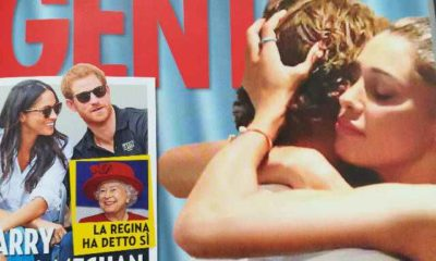 Belen Rodriguez e Stefano De Martino sia abbracciano: la copertina di Gente