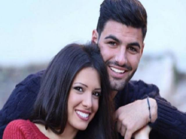 Clarissa e Federico smile