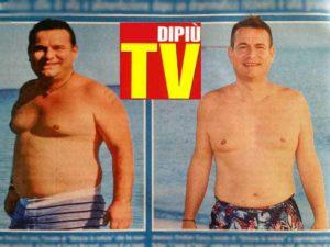 Cristian Cocco prima e dopo il dimagrimento: l'inviato di Striscia ha perso 30 chili
