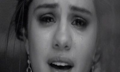 selena gomez lacrime