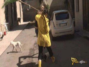 Stefania Petyx di Striscia la Notizia: brutale aggressione a Palermo