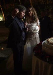 Il matrimonio di Stefano D'Orazio dei Pooh: eccolo con la moglie Tiziana