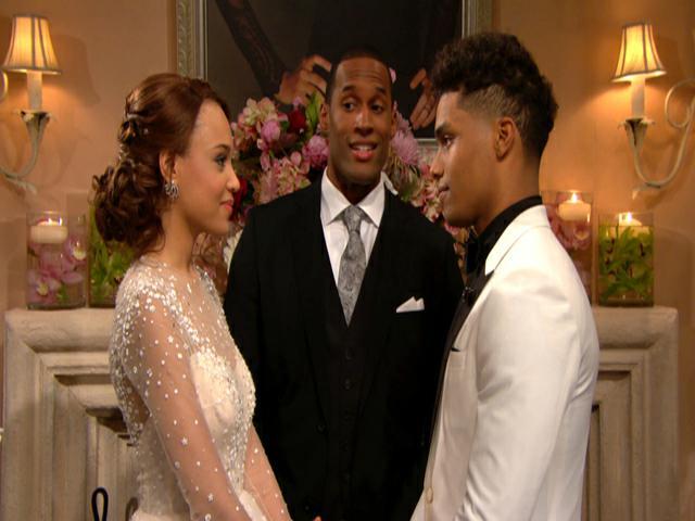 Matrimonio Zende E Nicole : Beautiful anticipazioni il matrimonio di zende e nicole