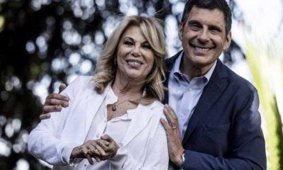 Rita dalla Chiesa Fabrizio Frizzi ex marito moglie