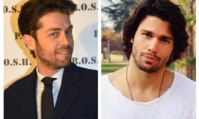 Raffelo Tonon Luca Onestini cravatta maglia