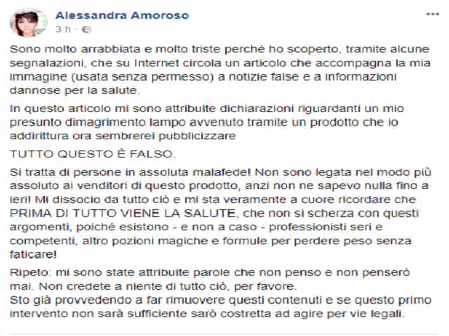 alessandra amoroso facebook