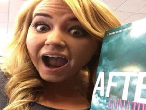 anna todd after selfie