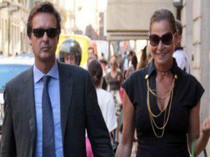 Simona Ventura e Gerò Carraro sposi