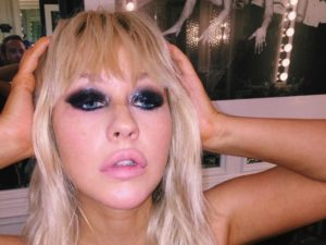 Christina Aguilera ritoccata