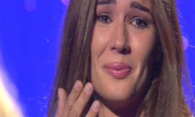 silvia toffanin piange