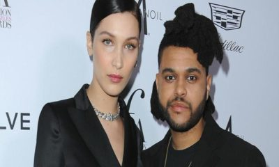 the weeknd si avvicina a bella hadid
