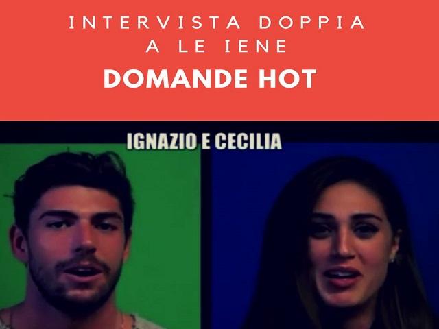Cecilia Ignazio intervista doppia