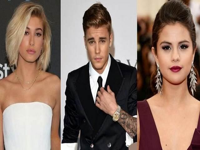 Hailey Baldwin, Justin Bieber e Selena Gomez