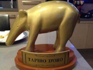 tapiro d'oro di striscia
