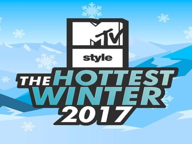the hottest winter 2017 con personaggi di uomini e donene