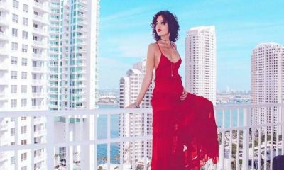 Rama Lila Giustini red dress