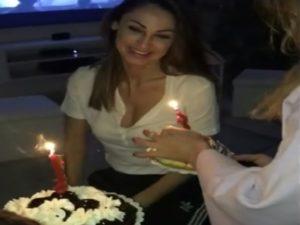 anna tatangelo compleanno senza gigi d'alessio crisi