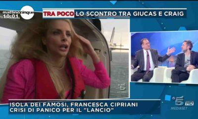 francesca cipriani isola dei famosi mattino 5