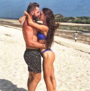 lorella boccia e il fidanzato niccolò presta in kenya