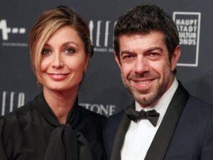 favino e moglie