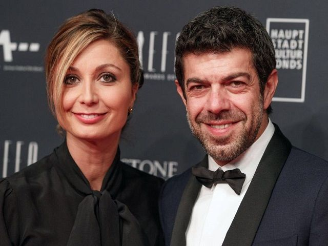 favino e moglie anna david