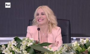 antonella clerici a sanremo young in conferenza stampa