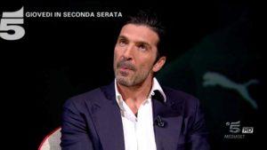 gigi buffon a l'intervista di maurizio costanzo