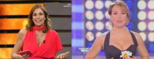 cristina parodi e barbara d'urso in tv domenica 11 febbraio 2018