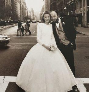 joe bastianich e la moglie deanna il giorno del matrimonio